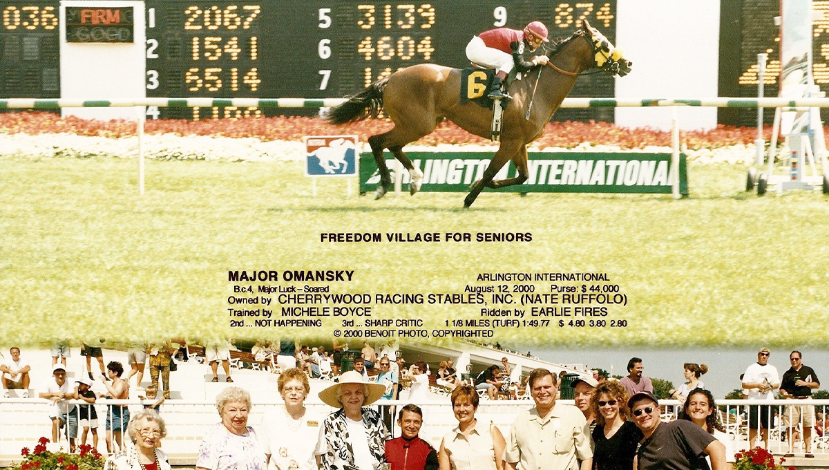 Freedom Village Horse Racing Event