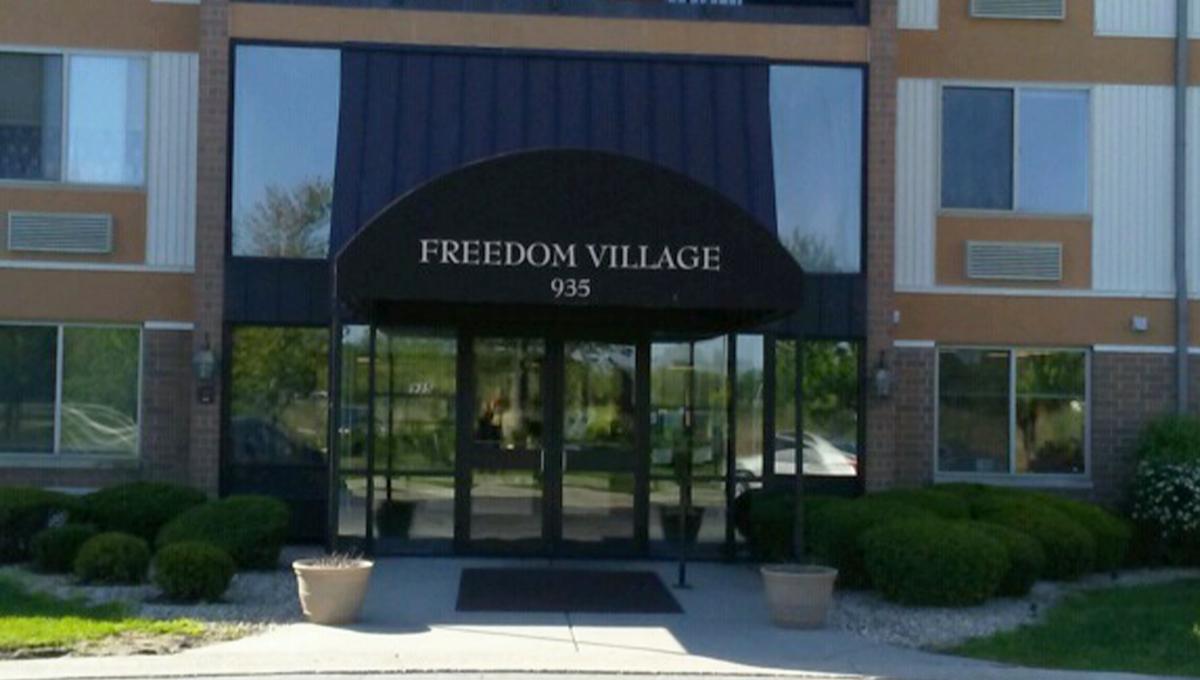 Freedom Village Lobby Entrance