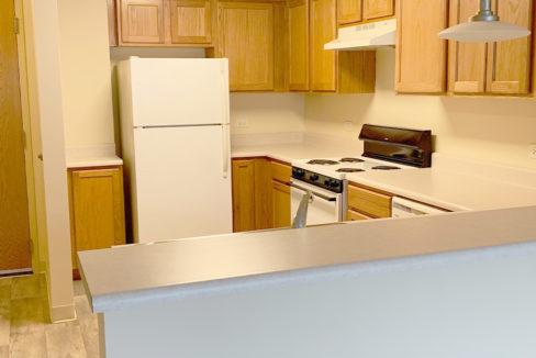 Poplar Creek Village Apartment Kitchen
