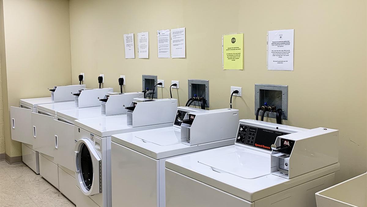 Poplar Creek Village Laundry Room On Every Floor
