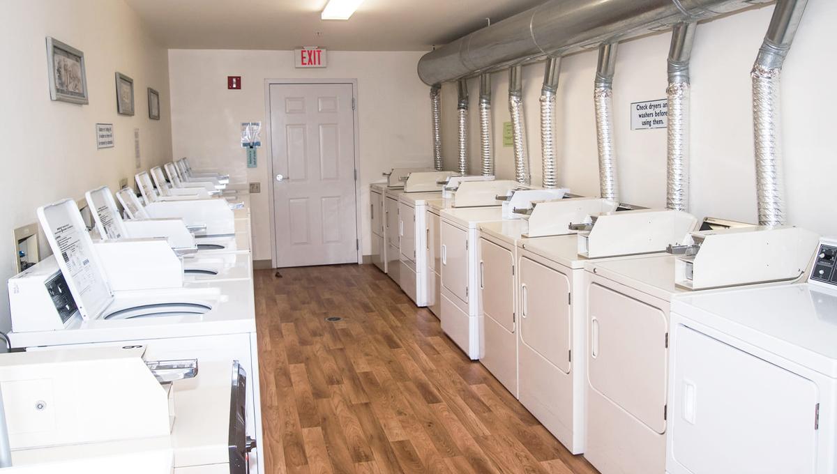 Emerald Village Laundry Room