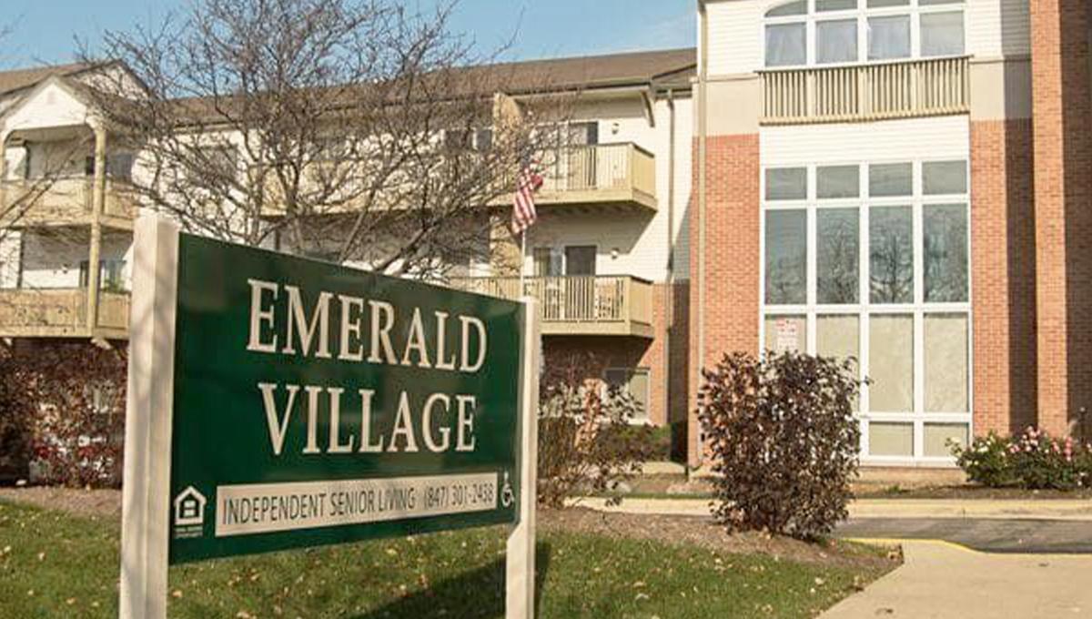 Emerald Village Entrance Sign