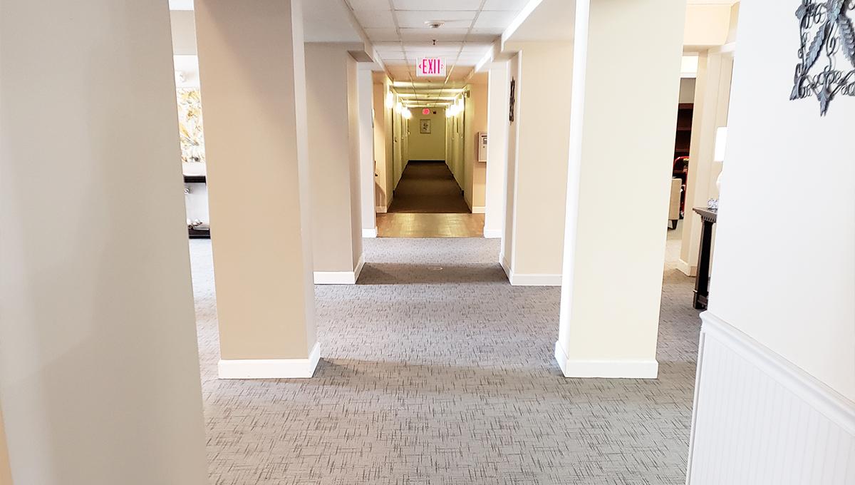 Liberty Village Hallway