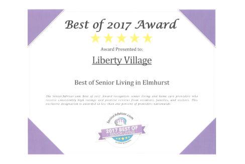 Liberty Village Award