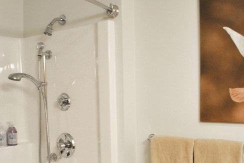 Zurich Meadows Apartment Shower